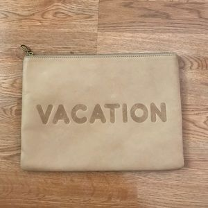 Madewell Oversized Vacation Clutch